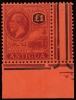 Antigua 1922 One Pound stamp (SG. 61)