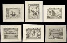 Sierra Leone 1933 Centenary of Abolition of Slavery Issue De La Rue photographic essays