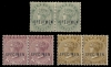 Bermuda 1883-1904 Queen Victoria Specimen Stamps