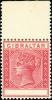 Rare Gibraltar stamp: SG23b Value Omitted (No Value) Error