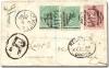 St. Kitts-England 1886 registered cover